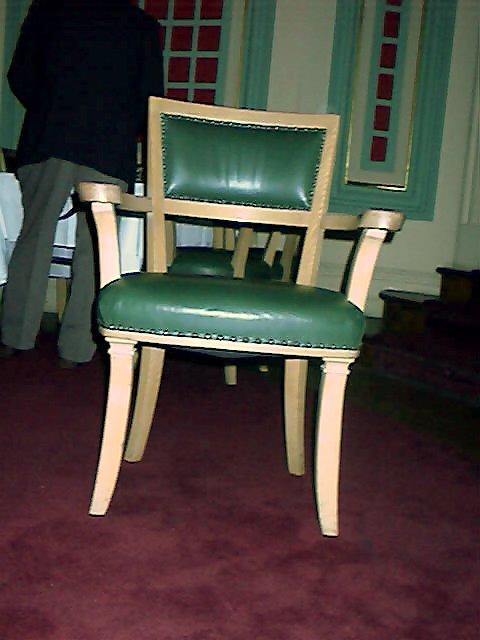 NY Yacht Club Dining Room Chair Fabrication